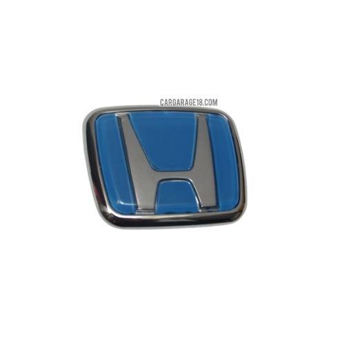 SIZE 70x57mm BLUE HONDA LOGO EMBLEM