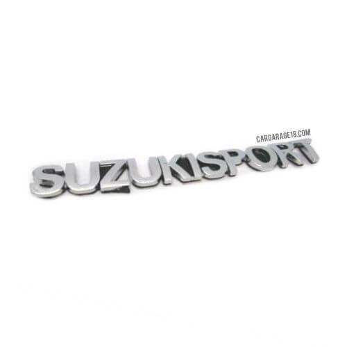 SIZE 135x16mm CHROME SUZUKI SPORT LETTER EMBLEM
