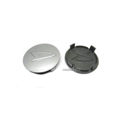 SIZE 60mm SILVER WHEEL CENTER CAP FOR DAIHATSU XENIA