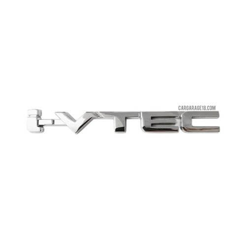 CHROME i-VTEC LETTER EMBLEM FOR HONDA BRIO