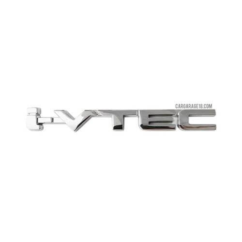 SIZE 131x14mm i-VTEC CHROME EMBLEM FOR HONDA CIVIC FD
