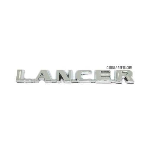 SIZE 114x13mm CHROME LANCER LETTER EMBLEM FOR MITSUBISHI
