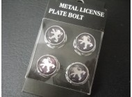 Nut Bolt License Plate Peugeot