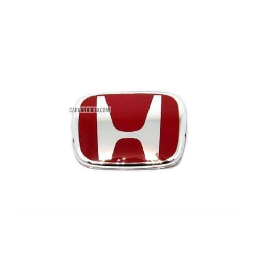 SIZE 85x70mm RED HONDA LOGO EMBLEM FOR HONDA JAZZ, ACCORD, ODYSSEY, STREAM, CRV