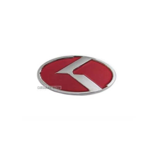 SIZE 110x55mm RED KIA LOGO EMBLEM FOR PICANTO