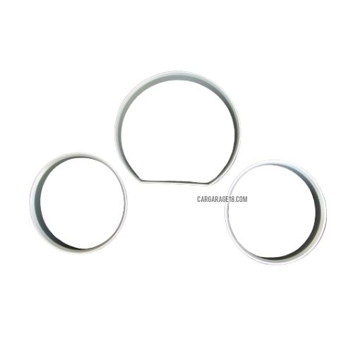 SILVER GAUGE RING CLUSTER FOR MERCEDES BENZ W124 (1985-1995)