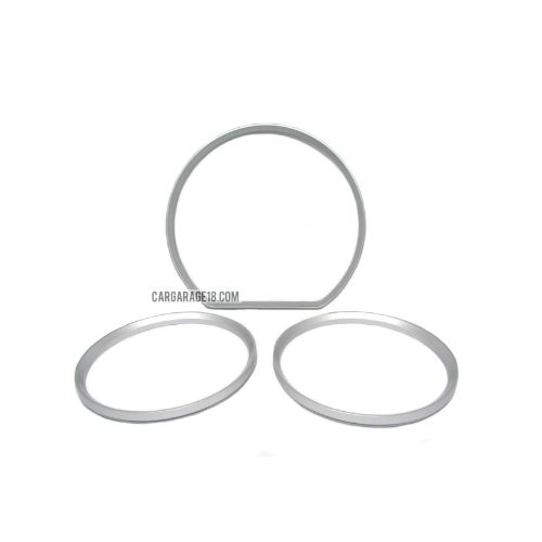 SILVER GAUGE RING CLUSTER FOR MERCEDES BENZ W210 (2000-2002)