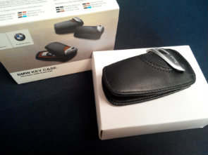 BMW key case black
