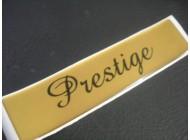GOLD Prestige EMBLEM FOR PEUGEOT