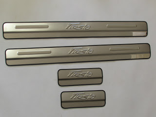 DOOR SILL PLATE NON LED FOR FORD FIESTA