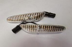 CRYSTAL MODEL LED SIDE MARKER FOR BMW E36, E46 FACELIFT, E53, E60, E81, E82, E87, E88, E90, E91, E92, E93