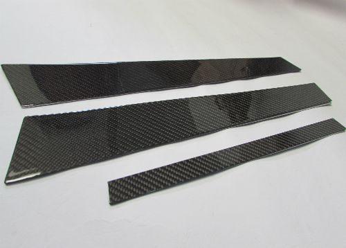 Carbon Fiber Door Pillar Trim For BMW E46