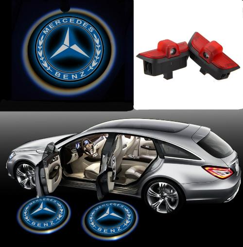 LED-door-step-courtesy-laser-projector-For-Mercedes-Benz-C-Class-W204-07-2014-C260-C300-C200-C280-C230