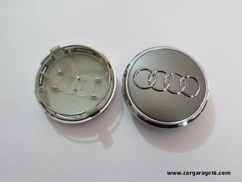Audi 77mm Dop Velg Abu Abu Chrome