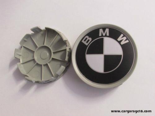 Dop Velg BMW 7cm Black White
