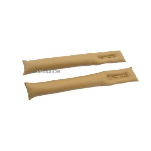 BROWN CAR SEAT GAP SYNTHETIC LEATHER MATERIALS