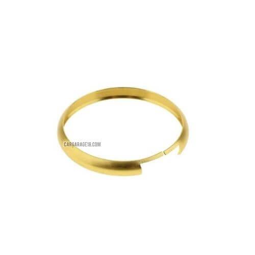 GOLD COLOUR RING ALUMINIUM KEY RIM FOR MINI COOPER (2007-2013)