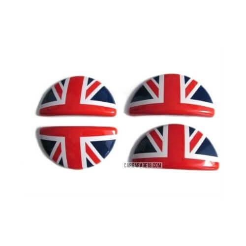 RED UK FLAG DOOR INNER HANDLE FOR MINI COOPER R60