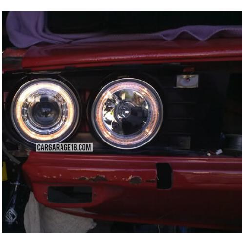 Headlamp BMW E30 With Angel Eyes Model