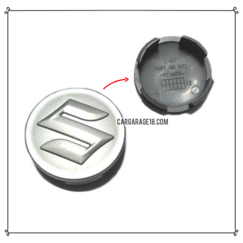 SUZUKI SILVER WHEEL CENTER CAP SIZE 60mm