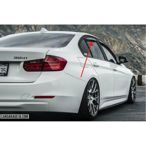 WINDOW VISOR BMW F30 (2011-ON)