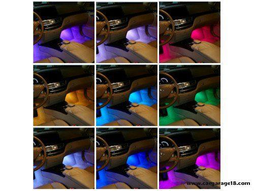 MULTI COLOUR LED FOOTWELL LIGHT