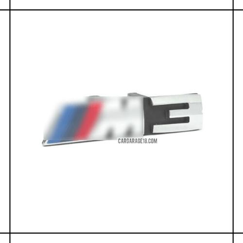 M3 GRILLE EMBLEM (FOR SINGLE SLATS)