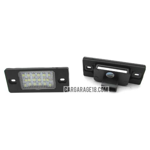 LED-LIGHTS-NUMBER-PLATE-FOR-VW-TOUREG-03-10-TIGUAN-GOLF-5D-Touring-PASSAT-B5.5-5D-TOURING