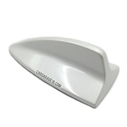 SIZE 180x87mm WHITE COLOUR MINI SHARK FIN ANTENNA