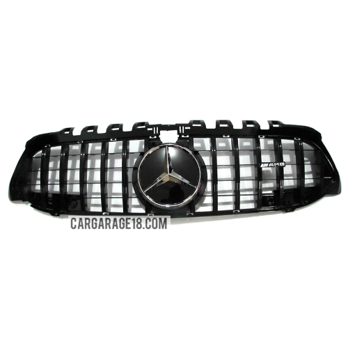 GRILL-W177-GTR-STYLE-GLOSSY-BLACK-FOR-MERCEDES-BENZ