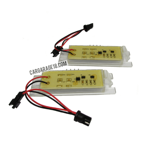 LED LICENSE PLATE NUMBER WITH RESISTOR TOTALLY NO ERROR FOR OPEL ZAFIRA B (05-11), ASTRA H (04-09), CORSA D (06-11), INSIGNIA (08-ON), HYUNDAI IX35 (10-ON)