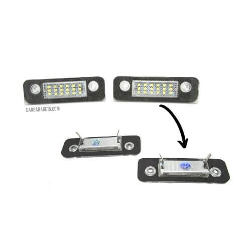 LED LICENSE PLATE NUMBER FOR FORD MONDEO Mk2, FIESTA (2001-2011), FUSION (2001-2011)