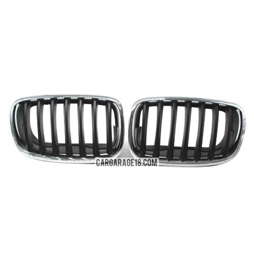GRILLE-BLACK-CHROME-FOR-BMW-X5-E70-X6-E71