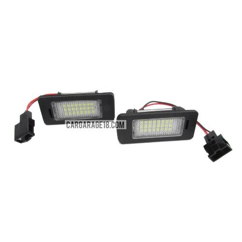 LED LICENSE PLATE NUMBER FOR AUDI Q5, A1, A4 B8 4D, A4 B8 5D, A4 B8 ALLROAD, A5/S5 2D, A5 5D SPORTBACK, A6/S6, A7 5D SPORTBACK, TT 2D, TT 2D ROADSTER, TTS 2D, TTS 2D Ro