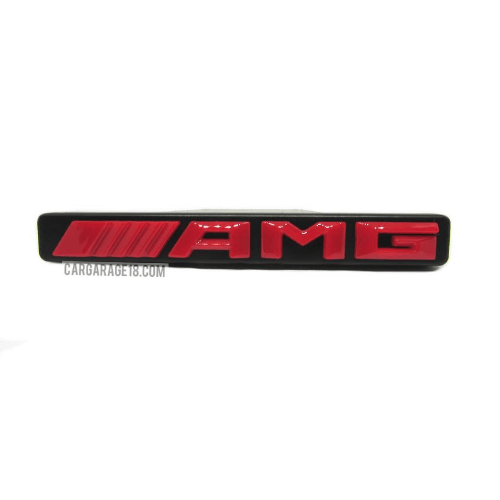 AMG-GRILLE-EMBLEM-RED-COLOUR-WRITING