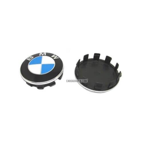 BLUE WHITE BMW WHEEL CENTER CAP SIZE 56mm
