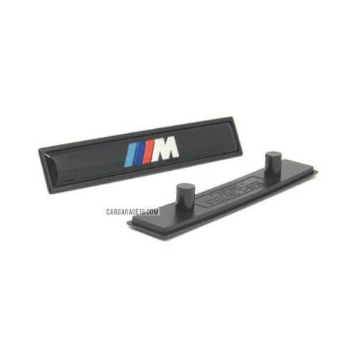 BLACK ///M SIDE EMBLEM SIZE 115x22mm FOR BMW