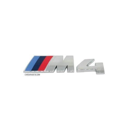 SIZE 115x30mm CHROME MTECH LOGO EMBLEM FOR BMW