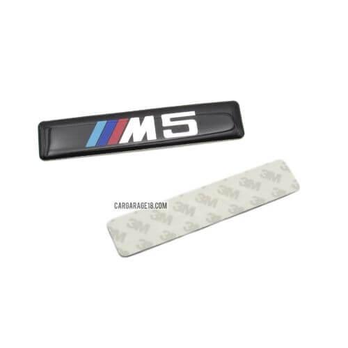 BLACK ///M5 SIDE EMBLEM TYPE 2 SIZE 88x20mm FOR BMW