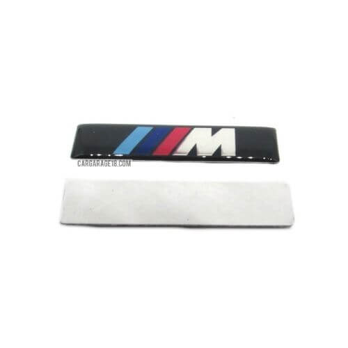 BLACK ///M SIDE EMBLEM SIZE 55x13mm FOR BMW