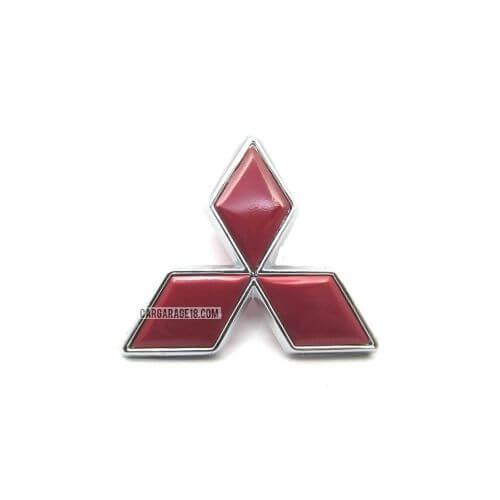RED MITSUBISHI LOGO EMBLEM SIZE 102x90mm