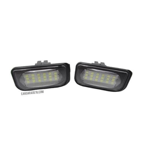 LED LICENSE PLATE NUMBER FOR BENZ W203 4D, SL ClASS R230, CLD CLASS W209