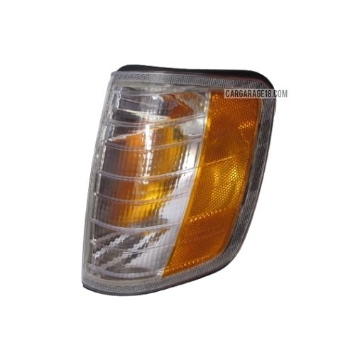 WHITE YELLOW CORNER LAMP FOR BENZ W124, US STYLE - LEFT SIDE