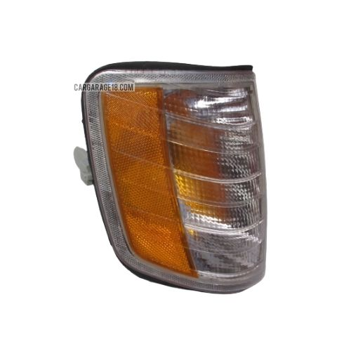 WHITE YELLOW CORNER LAMP FOR BENZ W124, US STYLE - RIGHT SIDE