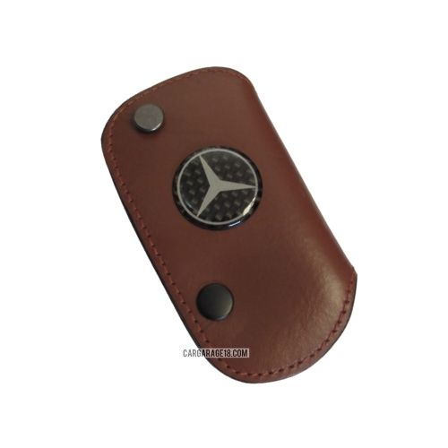 DARK BROWN KEY CASE BENZ SIZE 97x54mm