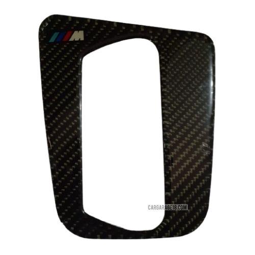 MTECH CARBON FIBER GEAR SHIFTKNOB PANEL INTERIOR FOR BMW E46 (97-00) A/T
