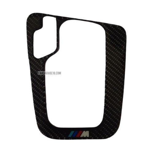 MTECH CARBON FIBER GEAR SHIFTKNOB PANEL INTERIOR FOR BMW E46 A/T