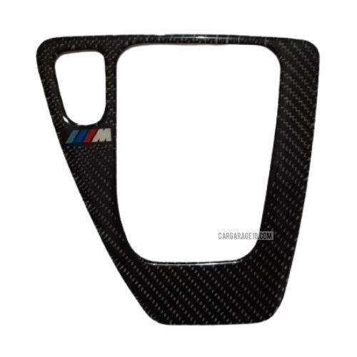 MTECH CARBON FIBER GEAR SHIFTKNOB PANEL INTERIOR FOR BMW E90 A/T